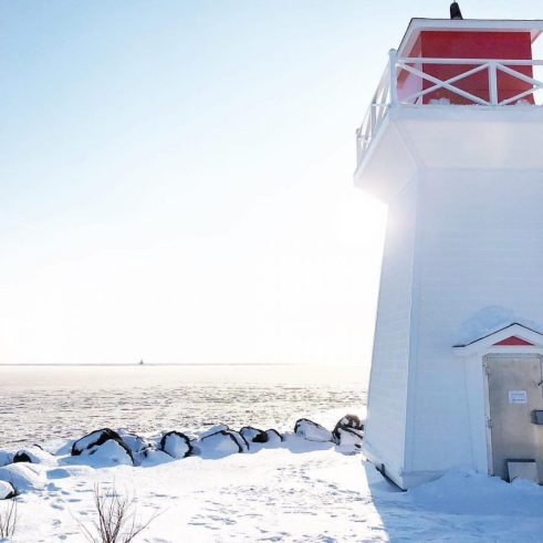 Summerside Outer Front Range Lighthouse | Photo by @theblondemaven