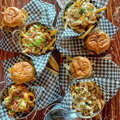 Backwoods Burger | Photo by Chef Ilona Daniel