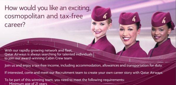 76 NEW JOBS IN QATAR AIRWAYS - Welcome Qatar