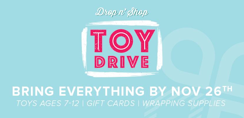 Crossroads Church - Drop n' Shop Toy Drive