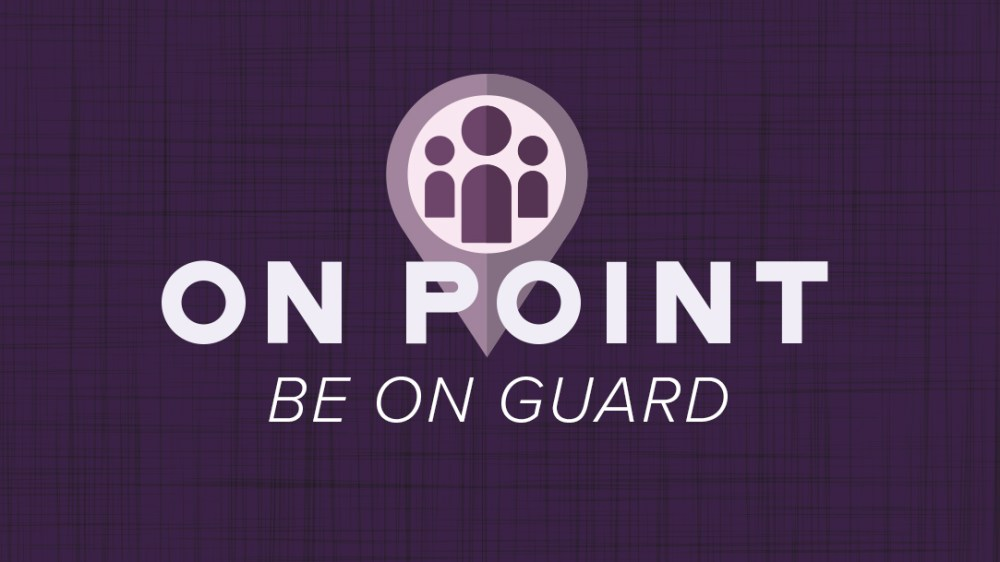 Be On Guard Image