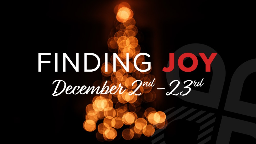 Finding Joy This Christmas