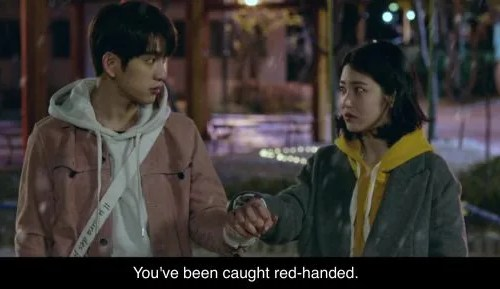 He is Psychometric. Caught redhanded