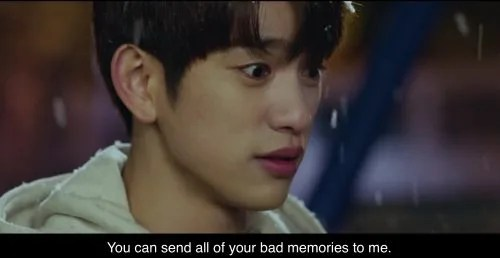 He is Psychometric - Send me all your bad memories
