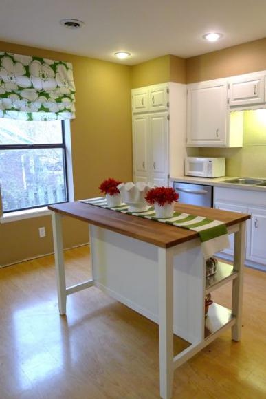 Remodelaholic New Ikea Kitchen Island