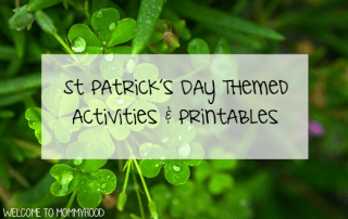 St Patrick's Day Activities #montessori