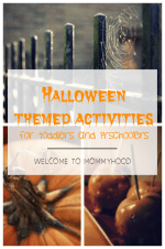 Halloween themed activities