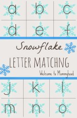 6 Snowflake letter recognition activities