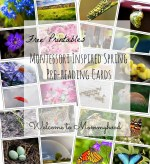 Free spring inspired cards
