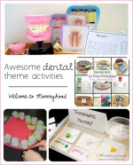 Dental themed activities and gift guide