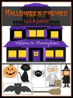 Halloween cut and paste