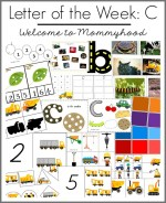 Tot Labs Presents: Letter C printables and books