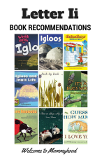 Letter I Book Recommendations