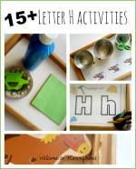 Letter H Trays
