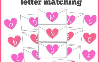 Valentine's Day Letter Matching