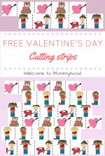 Valentine's Day Cutting Strips