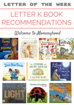 Letter of the Week: Letter L Book Recommendations