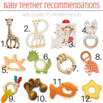 Teether recommendations for babies