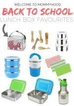 Back to school: Non-plastic lunch box supplies