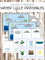 Water cycle printables