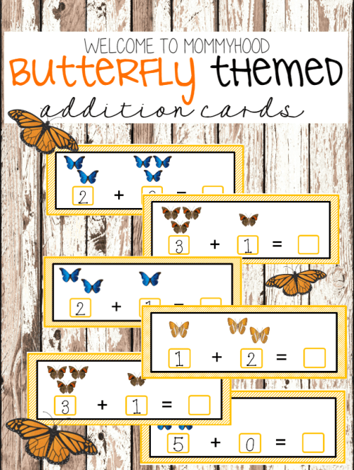 Butterfly addition strips
