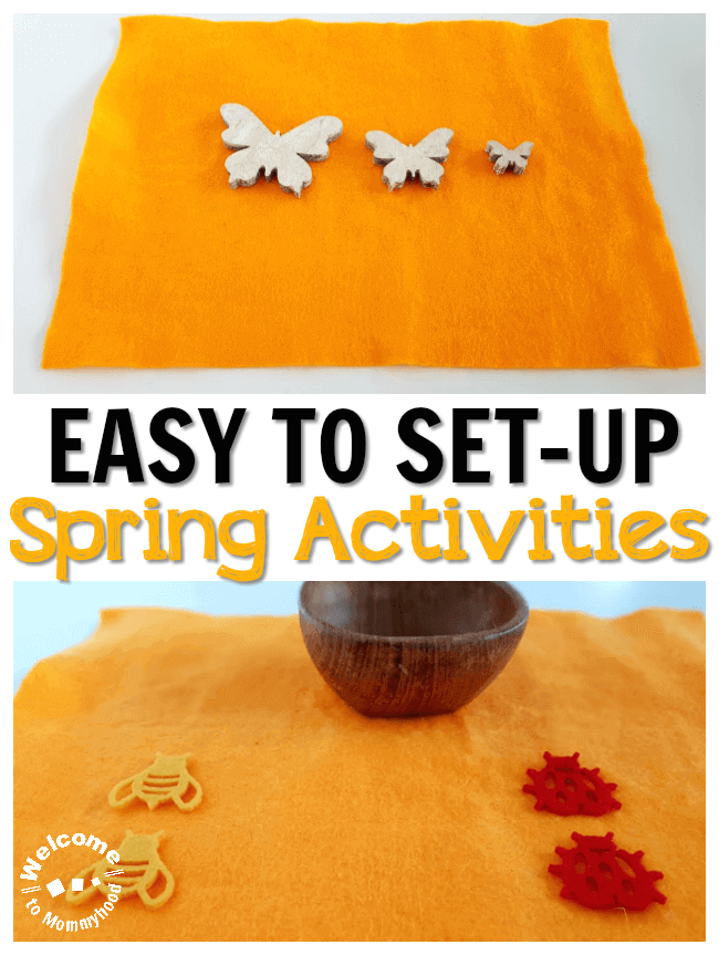 Easy to set up spring activities