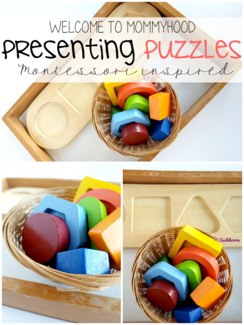 How to present puzzles to toddlers #
