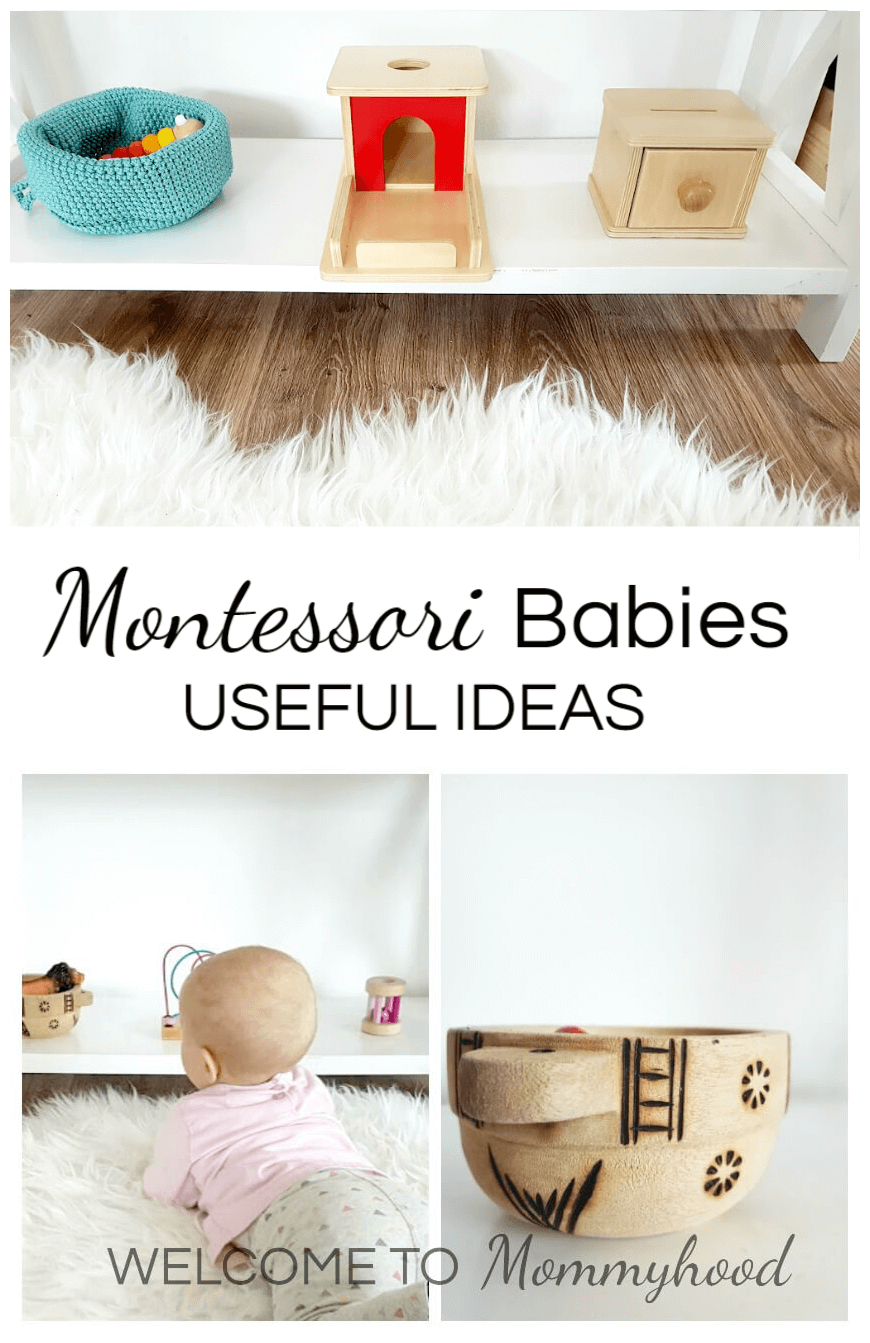 Montessori Babies: Montessori care of babies, activities, and gifts