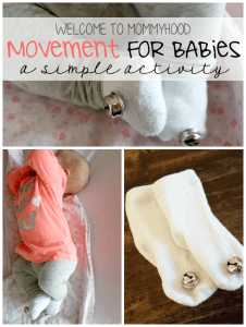 Movement for babies - socks