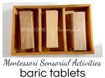 Montessori Baric Tablets