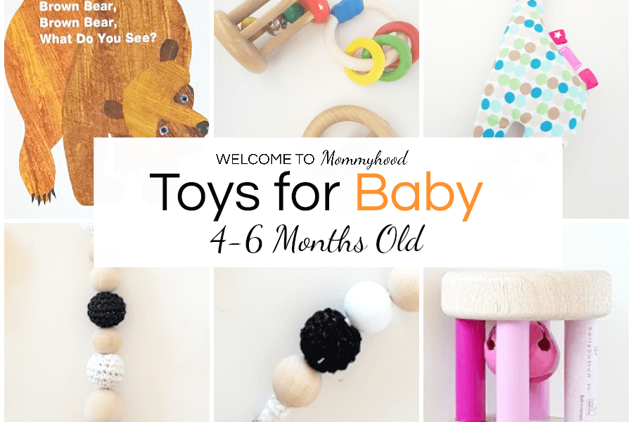 Montessori Toys For Babies Useful Toys For 4 6 Months Old