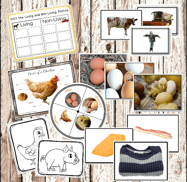Farm themed Printables Welcome to Mommyhood