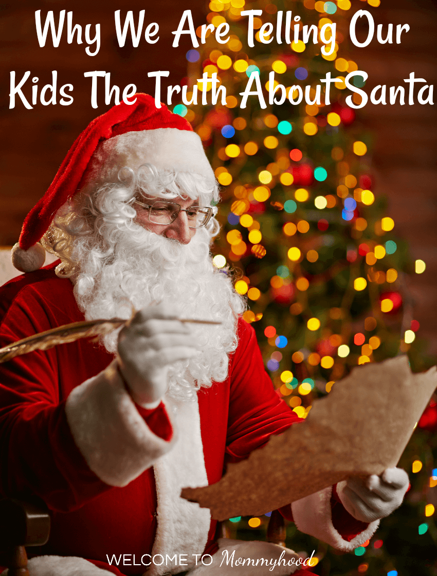 Why we are telling the truth about Santa feature