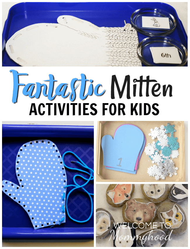 The Mitten Activities for Kids