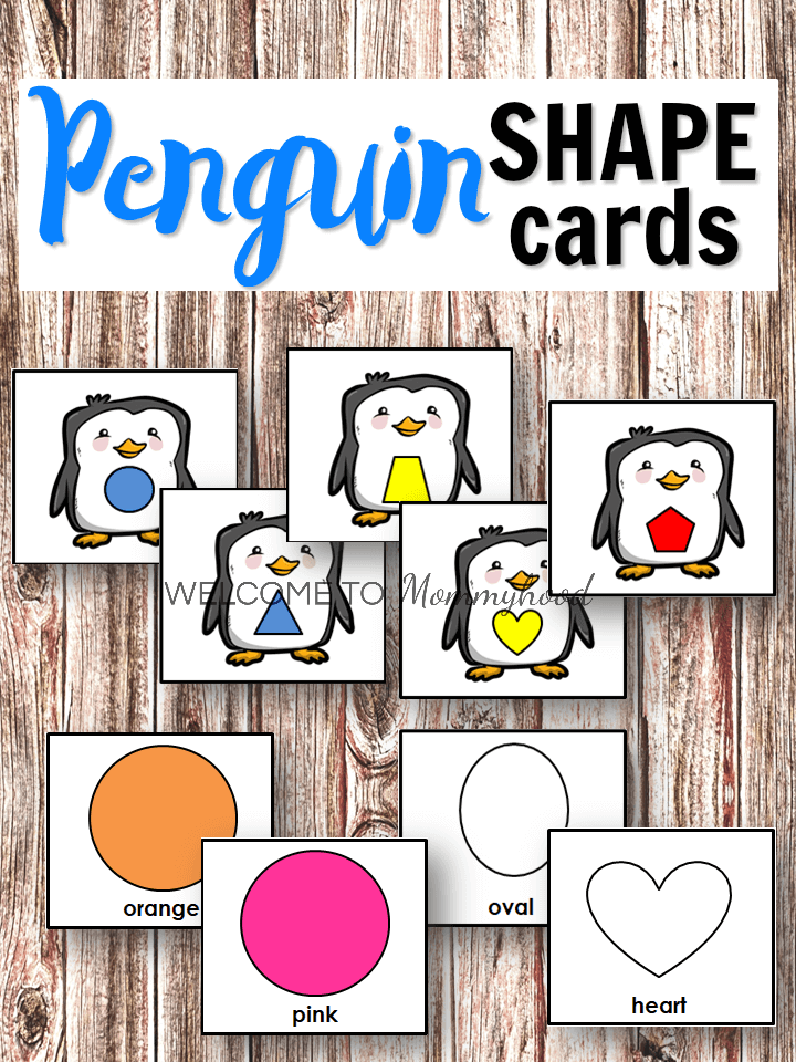 graphic about Penguins Printable Schedule called penguin form printables