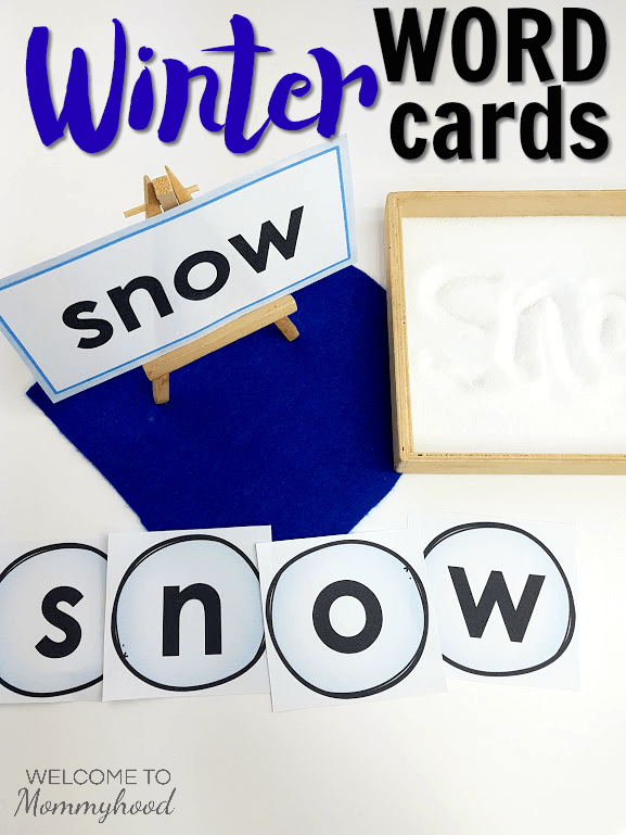 Winter Activities Hands-on Language Activities for Kids