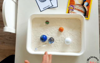 Your students will be so interested to learn about the moon with our hands-on Moon activities. These are perfect to spark curiosity and engage kindergarteners, preschoolers, or older children. Teach them all about how craters form on the moon! #moonactivities #kindergartenactivities #kidsactivities