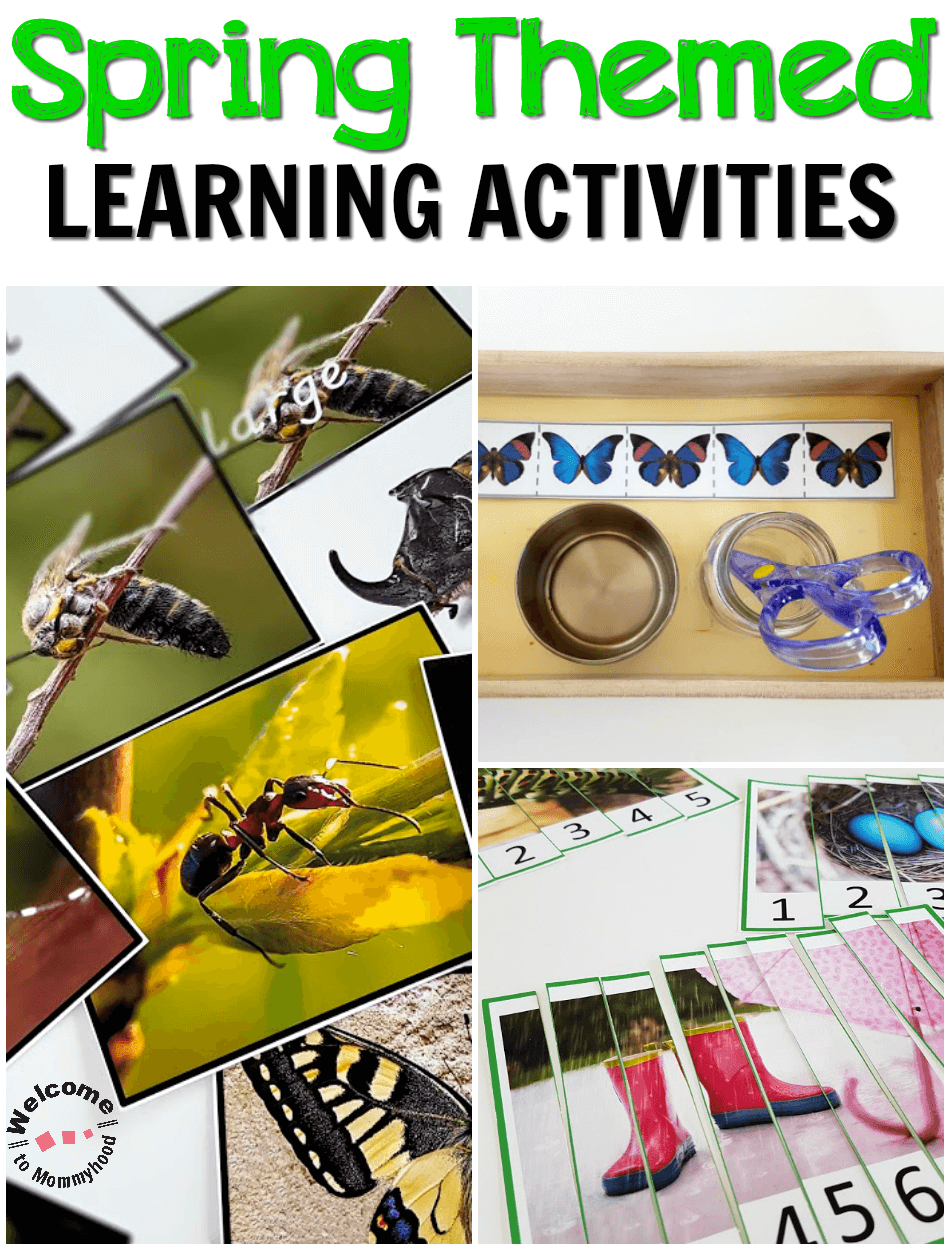 Your students will love these hands-on spring activities! Use our printables to create engaging, hands-on learning activities. #springactivities