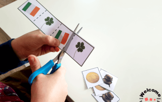 St Patrick's Day Cutting Strips