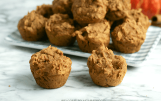 Awesome Gluten Free Pumpkin Mini Muffins