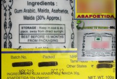 fake asafoetida available in indian markerts