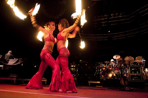 Fire Dancers - 5/14/09