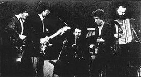 Dylan and The Band early days