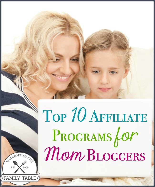 Looking for the best affiliate programs for mom bloggers? Here are my top 10!