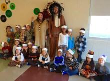Thanksgiving dress up at school