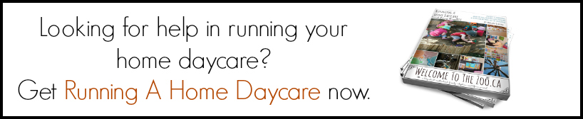 EBook-Running a Home Daycare and Doing It Well