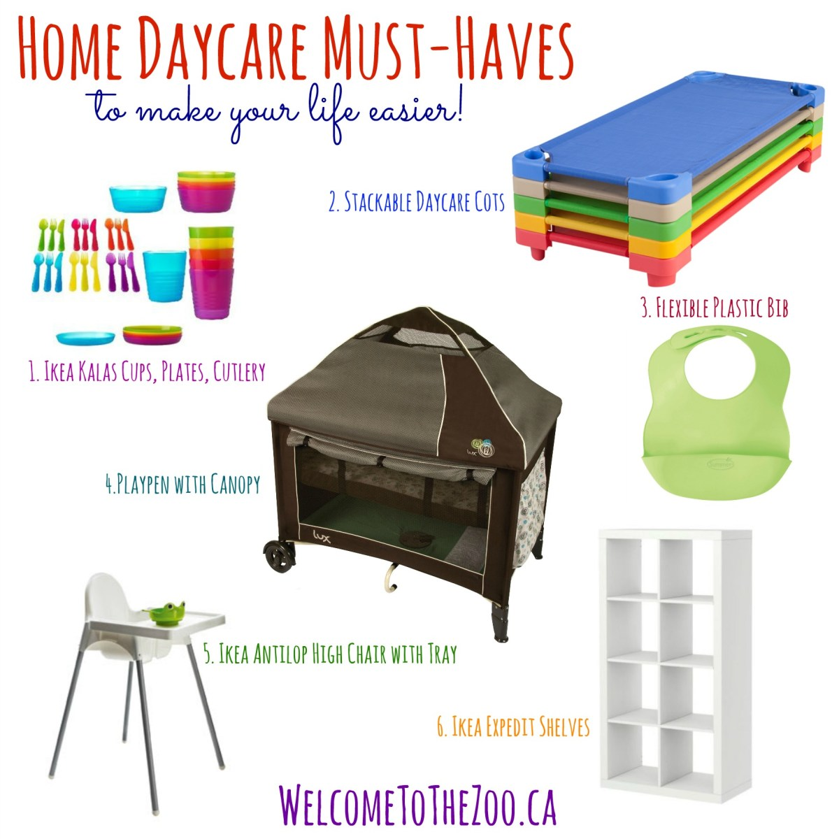 Must-Haves For Home Daycare
