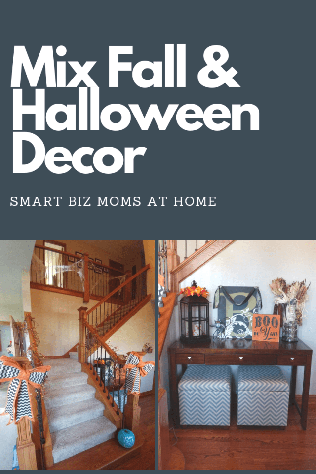 fall and halloween decor