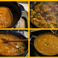 Red Lentil  and Cauliflower Curry