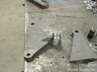 Ford motor mount installation